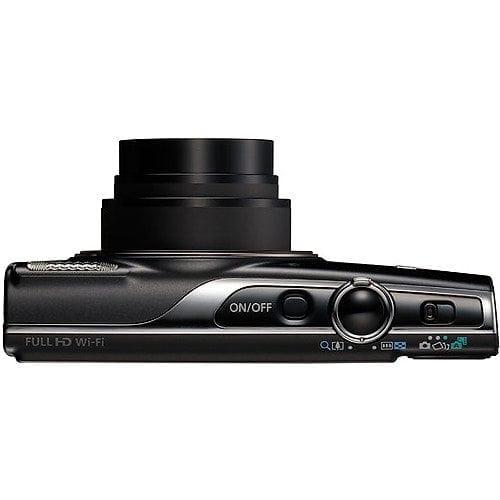 Canon PowerShot ELPH 360 HS Digital Camera Black 04 - Canon PowerShot ELPH 360 HS with 12x Optical Zoom and Built-In Wi-Fi (Black)