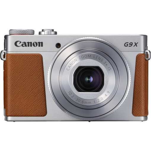 Canon PowerShot G9 X Mark II Digital Camera Silver 02 - New Canon PowerShot G9 X Mark II Digital Camera (Silver)
