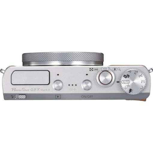 Canon PowerShot G9 X Mark II Digital Camera Silver 06 - New Canon PowerShot G9 X Mark II Digital Camera (Silver)
