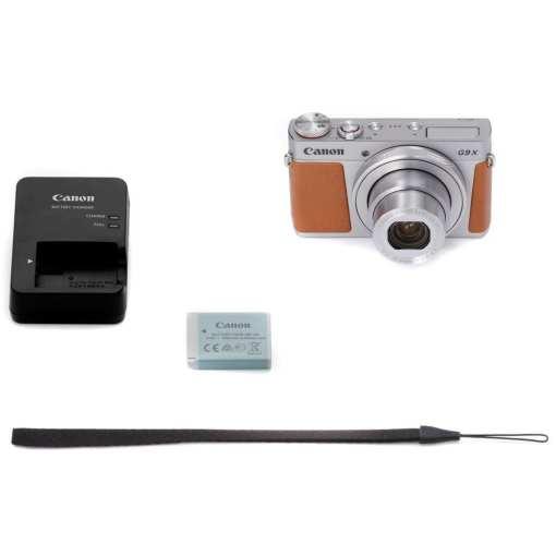 Canon PowerShot G9 X Mark II Digital Camera Silver 08 - New Canon PowerShot G9 X Mark II Digital Camera (Silver)