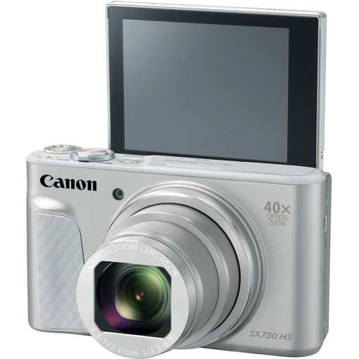 Canon PowerShot SX730 HS Digital Camera Silver 02 - Canon PowerShot SX730 HS (Silver)