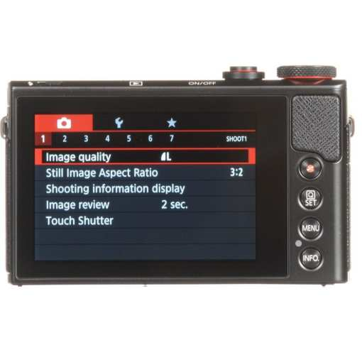 bb7584d3 5422 4061 8cdd 284492260c86 - New Canon PowerShot G9 X Mark II Digital Camera (Black)
