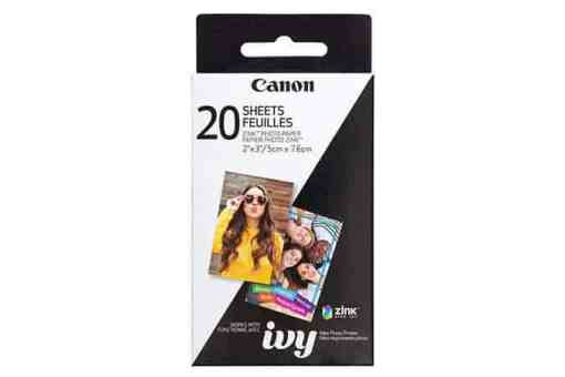 "675x450 20 Sheets IVY ZINK Photo Paper 1 xl - Canon 2 x 3"" ZINK Photo Paper Pack, 20 sheets"