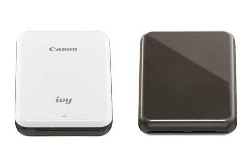 new ivy slate gray 1 xl - Canon IVY Mini Photo Printer, Slate Gray
