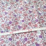 ブロード小花ピンク2
