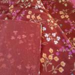 ミジンコール小花柄茶2
