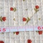 天竺ジャカード小花柄3