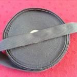 杉綾織平テープ20mm濃いグレー1