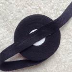杉綾織平テープ16mm黒1