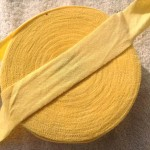 ニットバイアステープ黄色
