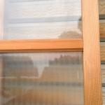 縦縞ガラス引き違い戸3
