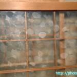 丸タイル模様ガラス戸3