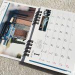 BMWミニ2017卓上カレンダー1月