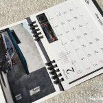 BMWミニ2017卓上カレンダー2月