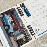 BMWミニ2017卓上カレンダー9月
