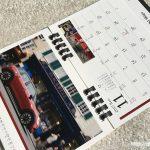 BMWミニ2017卓上カレンダー11月