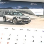 BMWミニ2017カレンダー7月