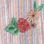 刺繍割烹着の刺繍2