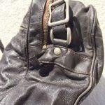 革製ミニショルダーバッグ茶色4