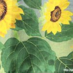向日葵の御卓布1