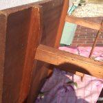 木製作業机脚2