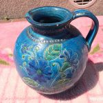 イタリア製丸型花瓶1