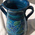 イタリア製縦長花瓶1