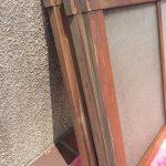 縦長ガラス戸3段タイプ上部