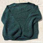 ローリーズファームVネックセーター3