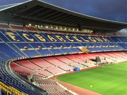 Estadio en Camp Nou
