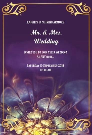 wedding invitation maker