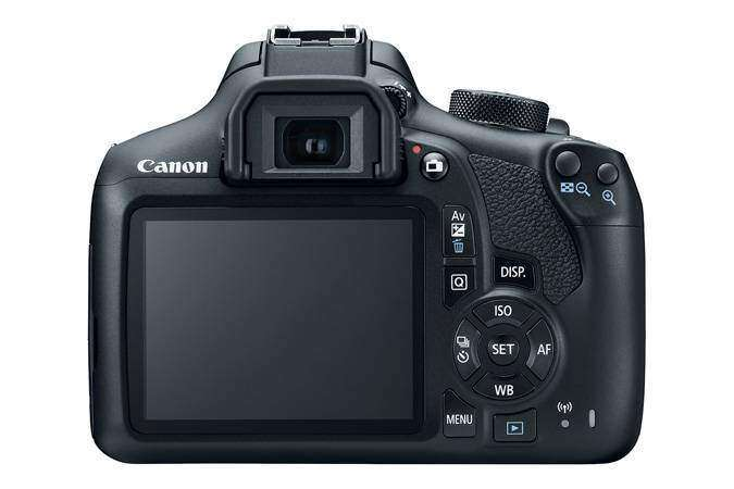 Canon T6/EOS 1300D Review Back
