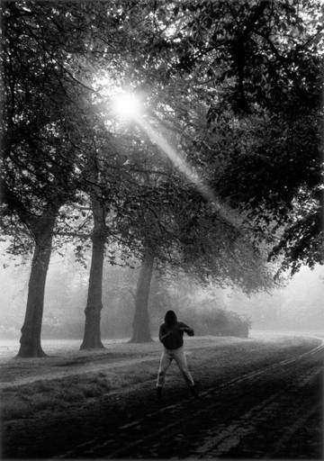 Muhammad Ali Trains in Hyde Park, London, England, 1966