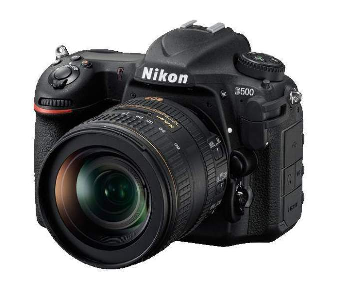 Nikon D500 Review Front Left