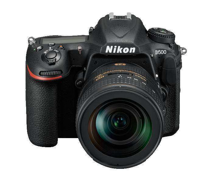 Nikon D500 Review Front Top