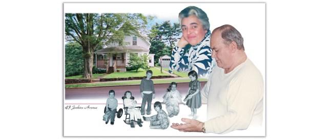 Family Reunion Photo Collage