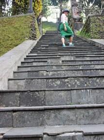 - The pathway, Pura Tirta Empul, Bali -