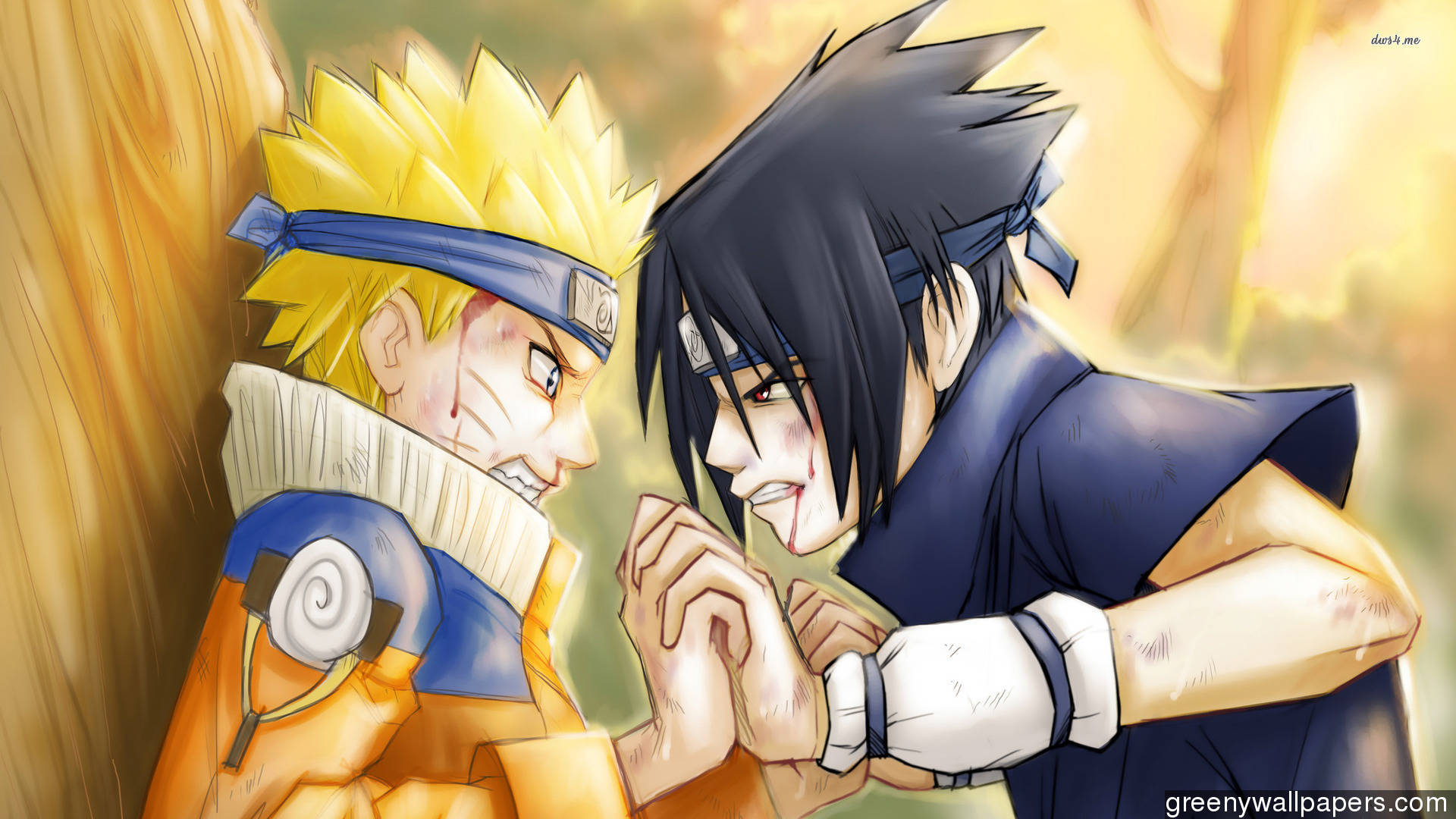 naruto vs sasuke wallpaper download free
