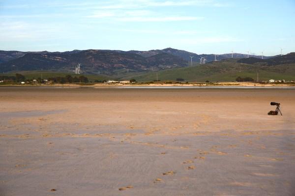 Playa de los Lances.