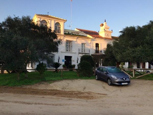 """The hotel """"El Toruño"""" in El Rocío"""