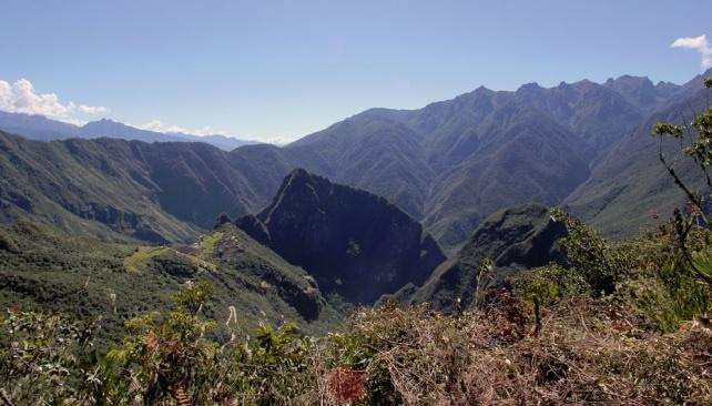 The new section of the Inca Trail that researchers discovered6