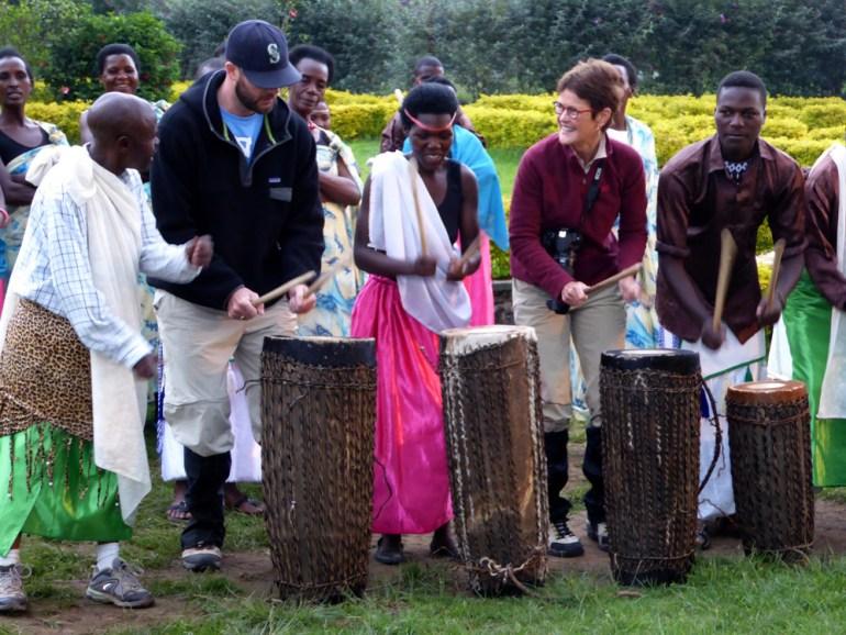 drumming in Rwanda
