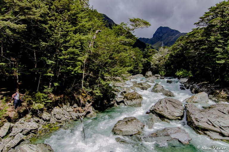 Routeburn Track river