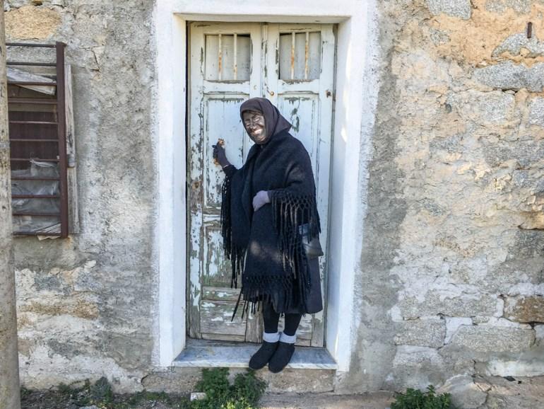 our local guide in Gavoi, Valeria Sanna