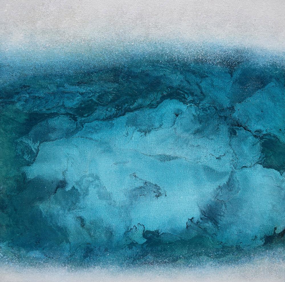 """Pyrgaki 2"" painting by Tana Hakanson"