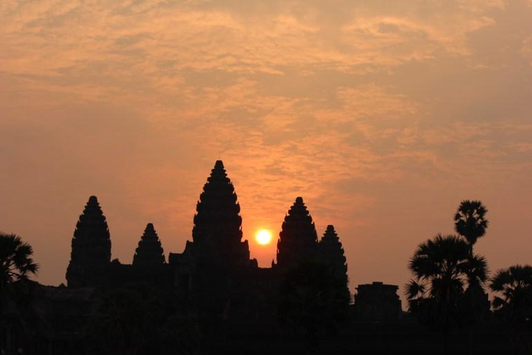 Sunrise over Angkor Wat, Cambodia