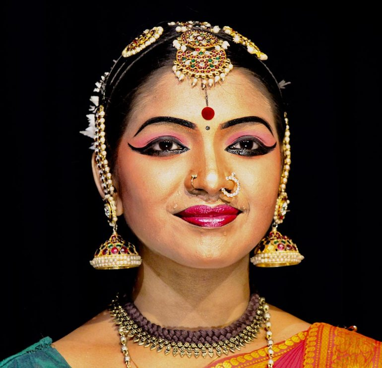 Kathakali female performer India