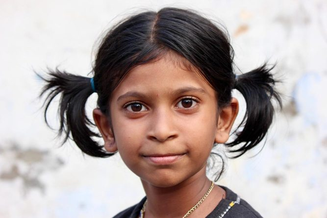 girl in Madurai India