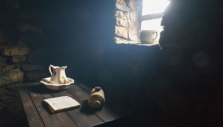 Blackhouse museum Scotland