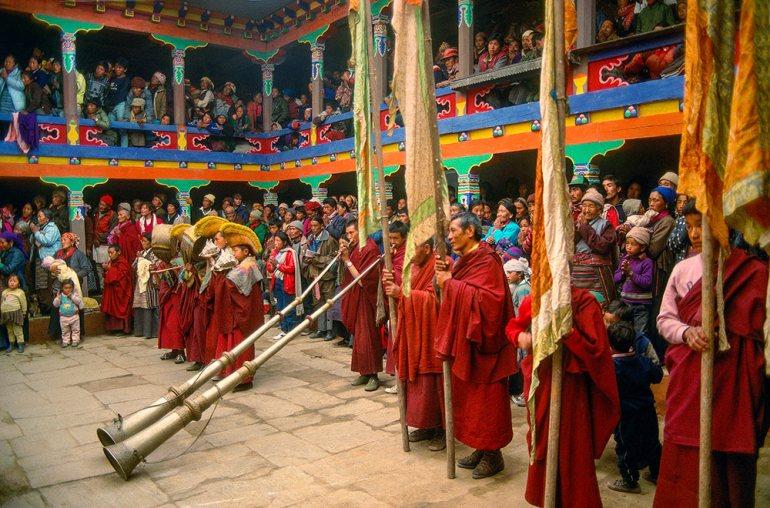 mani rimdu festival in nepal